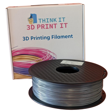 PLA Filament Silver 1kg